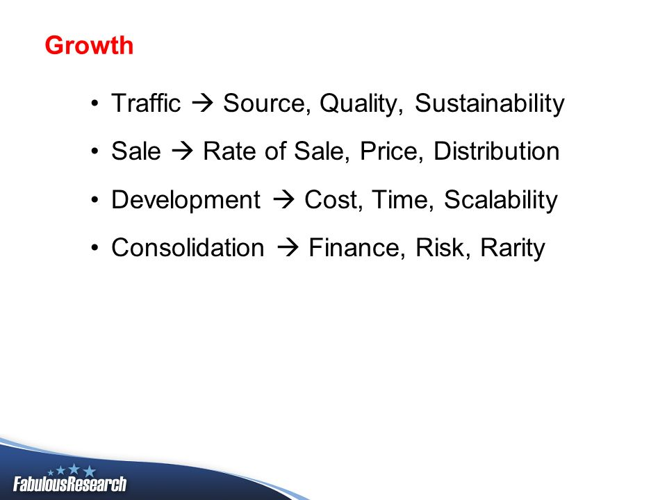 Development: What is rare, valuable, and sustainable.