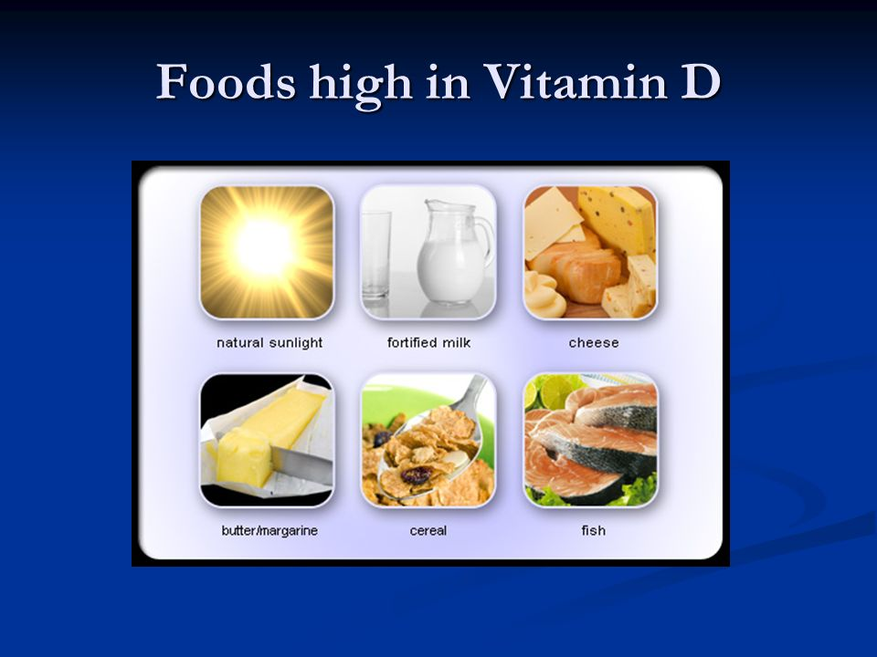 Foods high in Vitamin D