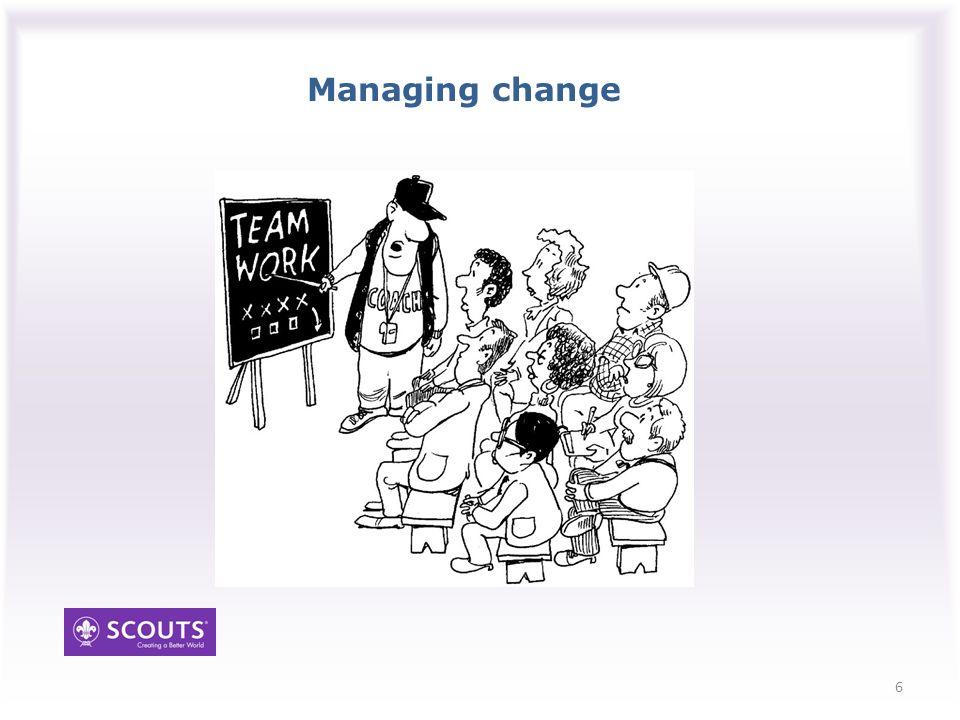 Managing change 6
