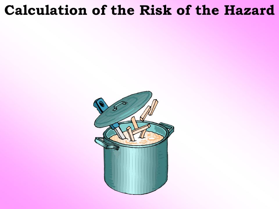 Calculation of the Risk of the Hazard