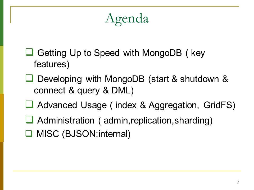 43 Replication on MongonDB Replication-set 1.