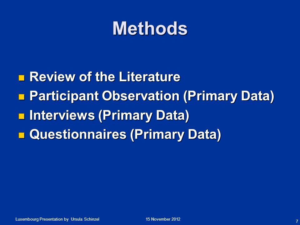 15 November 2012Luxembourg Presentation by Ursula Schinzel Hofstedes Interview Analysis Symbols.