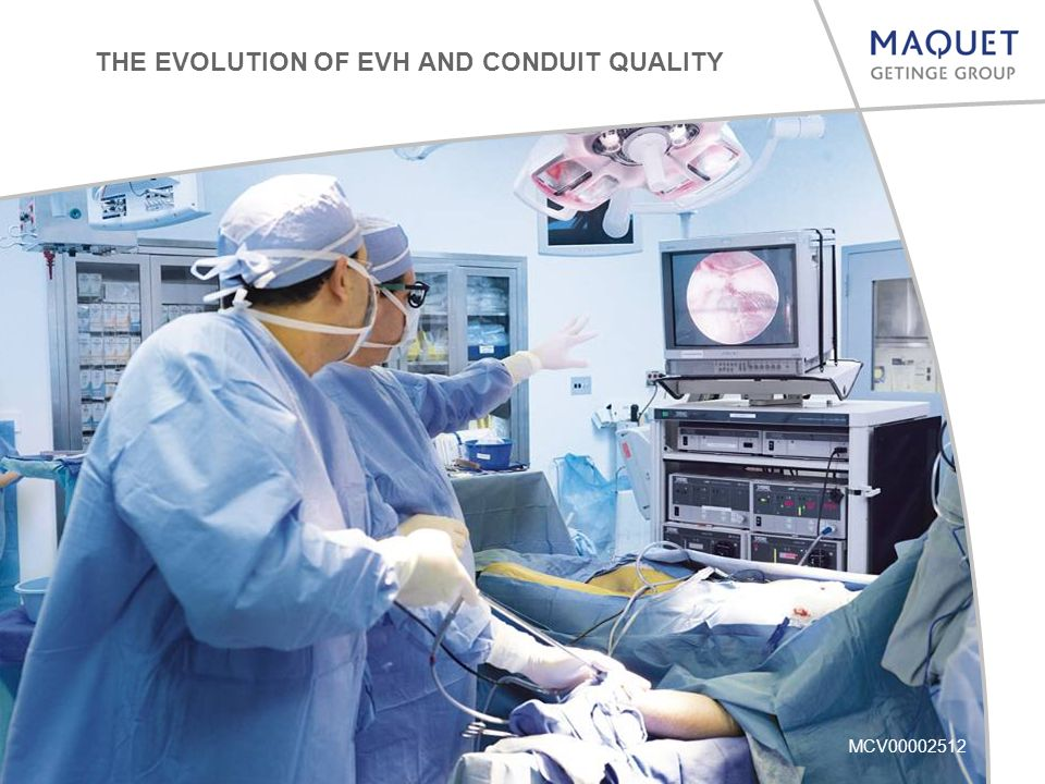 MCV00002512 THE EVOLUTION OF EVH AND CONDUIT QUALITY