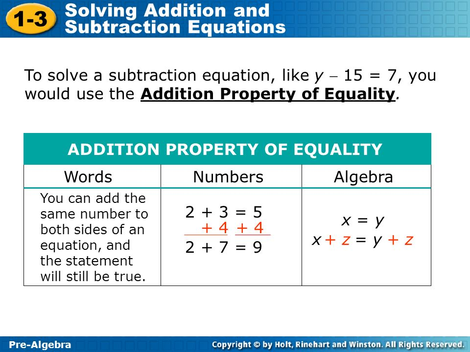 math worksheet : algebra addition properties and subtraction  the best and most  : Addition Property Of Equality Worksheets