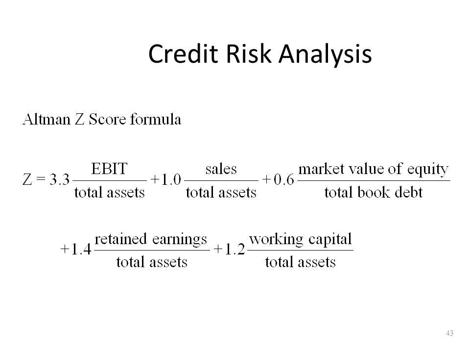 43 Credit Risk Analysis
