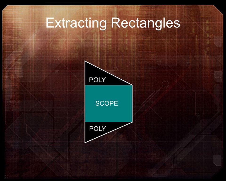 Extracting Rectangles