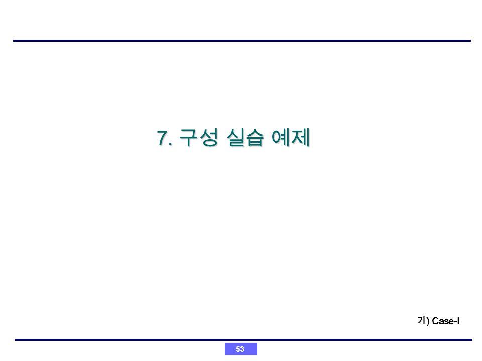 53 7. 7. ) Case-I