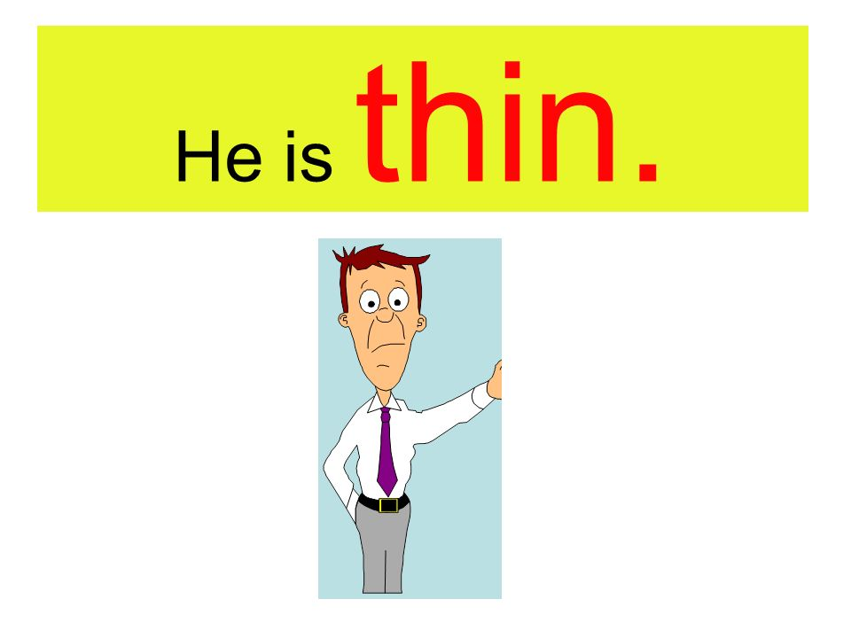 He is ……………….