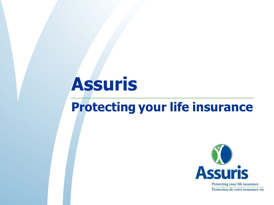 Assuris Protecting your life insurance