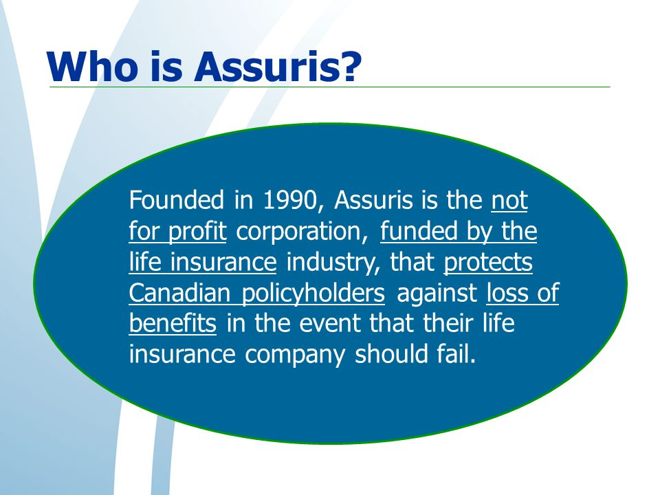 Who is Assuris.