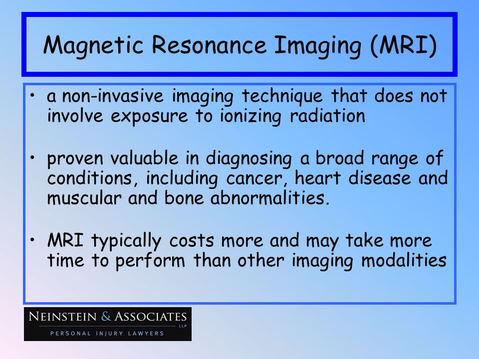 Magnetic Resonance Imaging (MRI) a non-invasive imaging technique that does not involve exposure to ionizing radiation proven valuable in diagnosing a