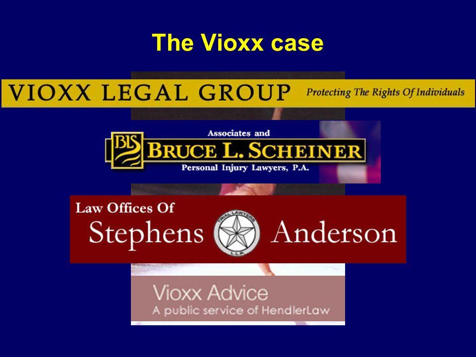 Dorothy Hamill The Vioxx case