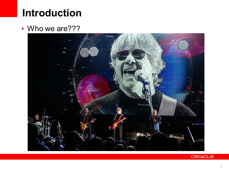 2 Introduction Who we are???
