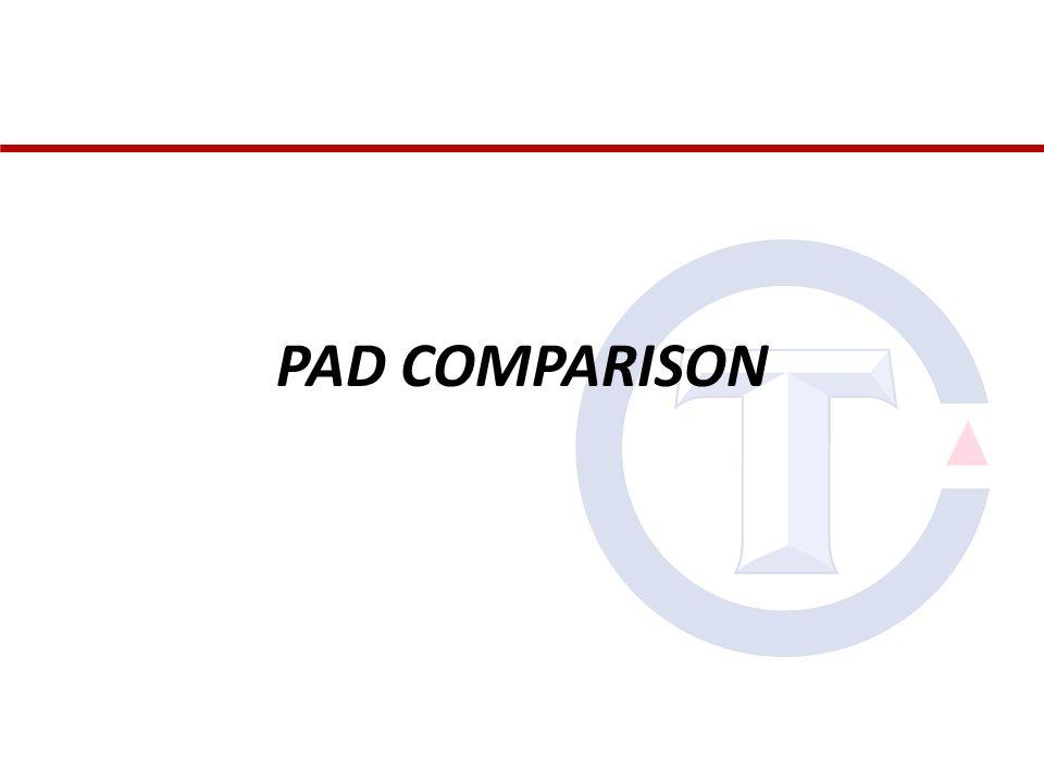 PAD COMPARISON