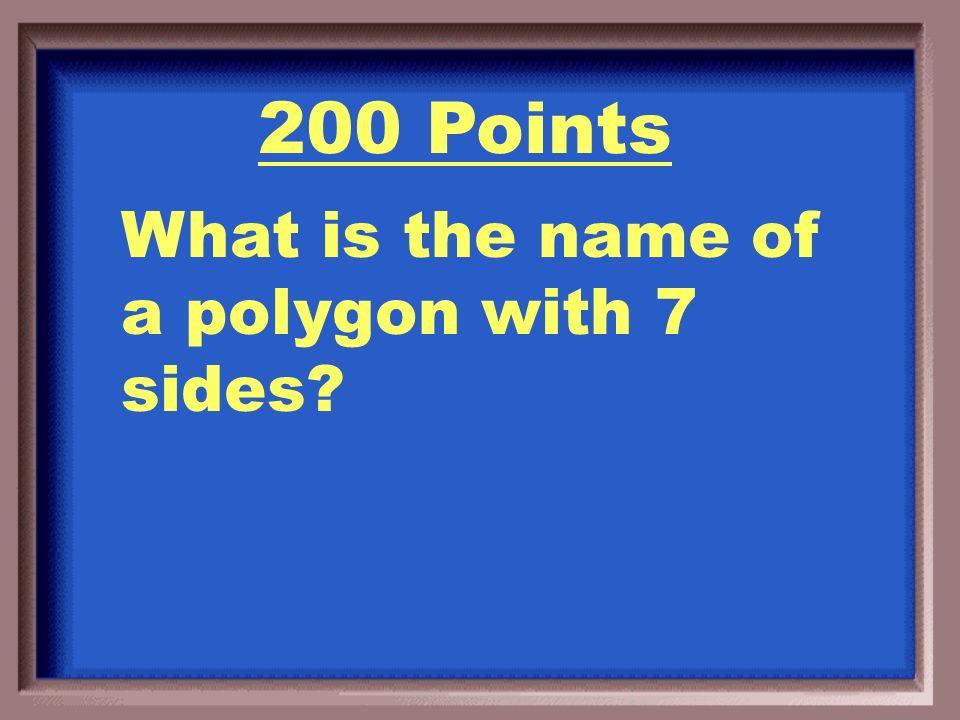 100 Points A Hexagon!