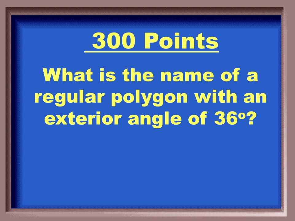 A Heptagon or Septagon! 200 Points
