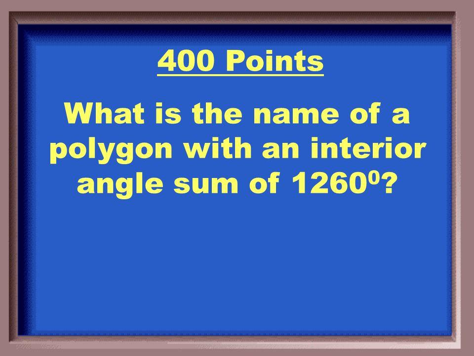 N = 10 A Decagon 300 Points