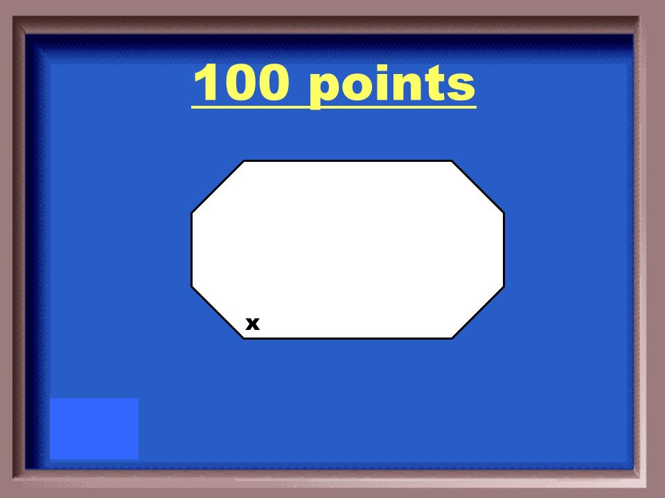 100 Points Draw a polygon and label and interior angle.