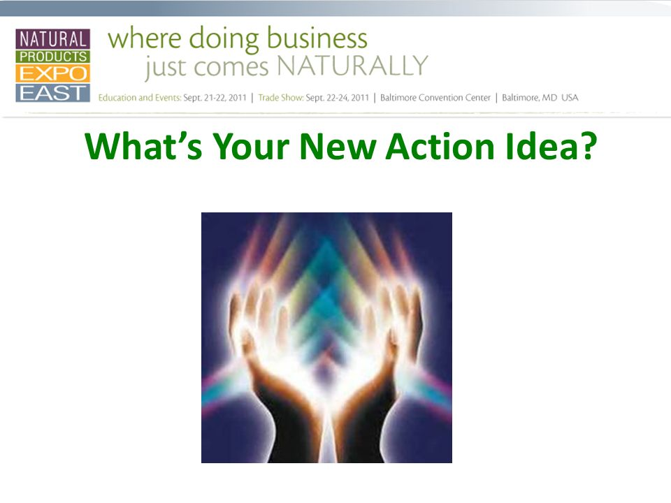 Whats Your New Action Idea
