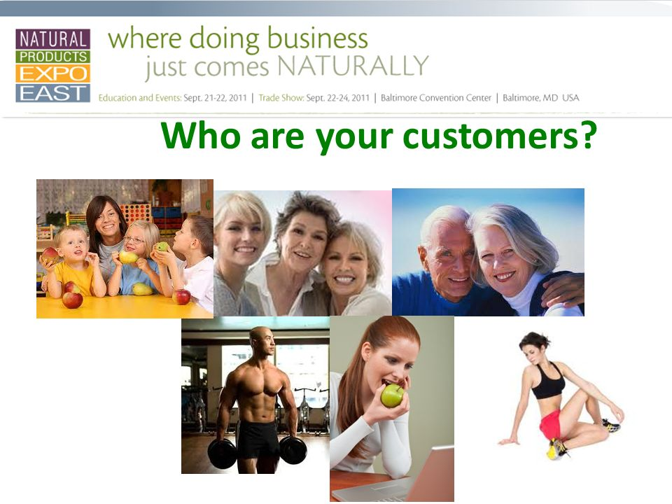 Who are your customers