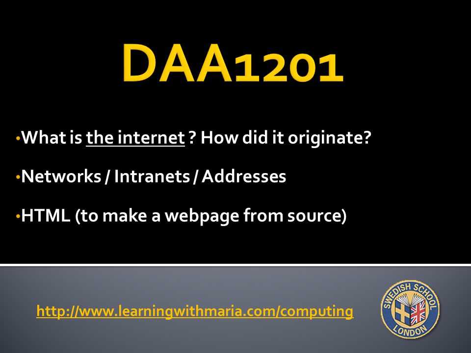 What is the internet . How did it originate.