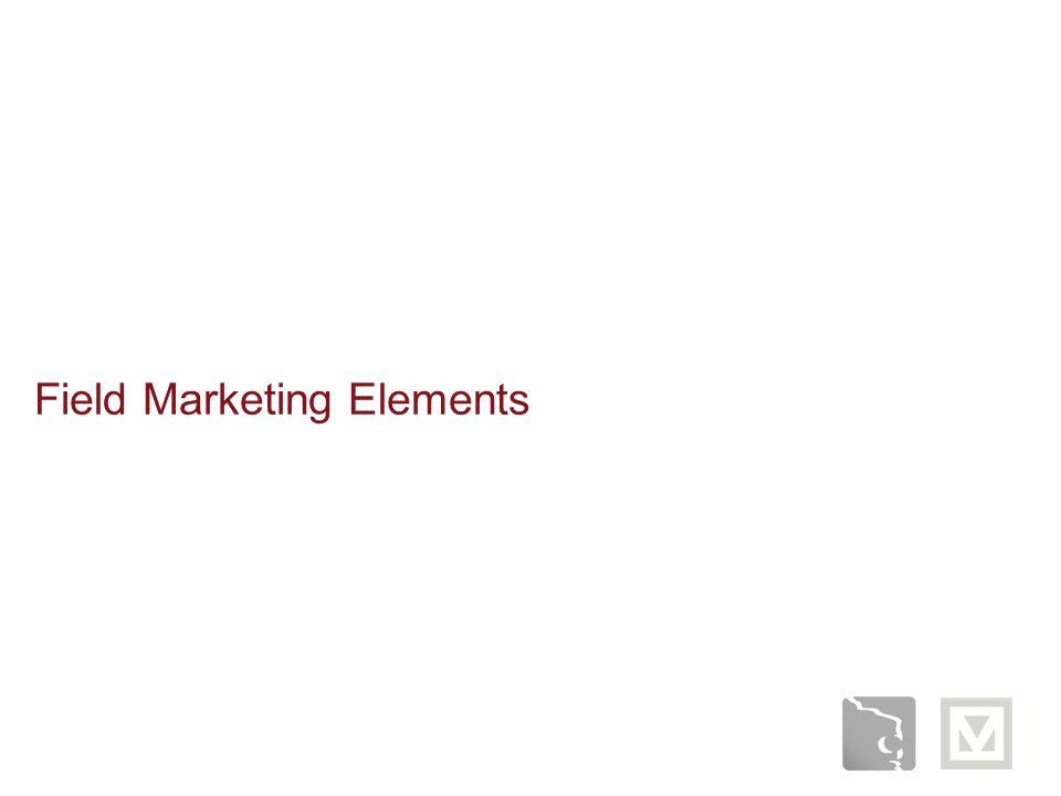 Field Marketing Elements