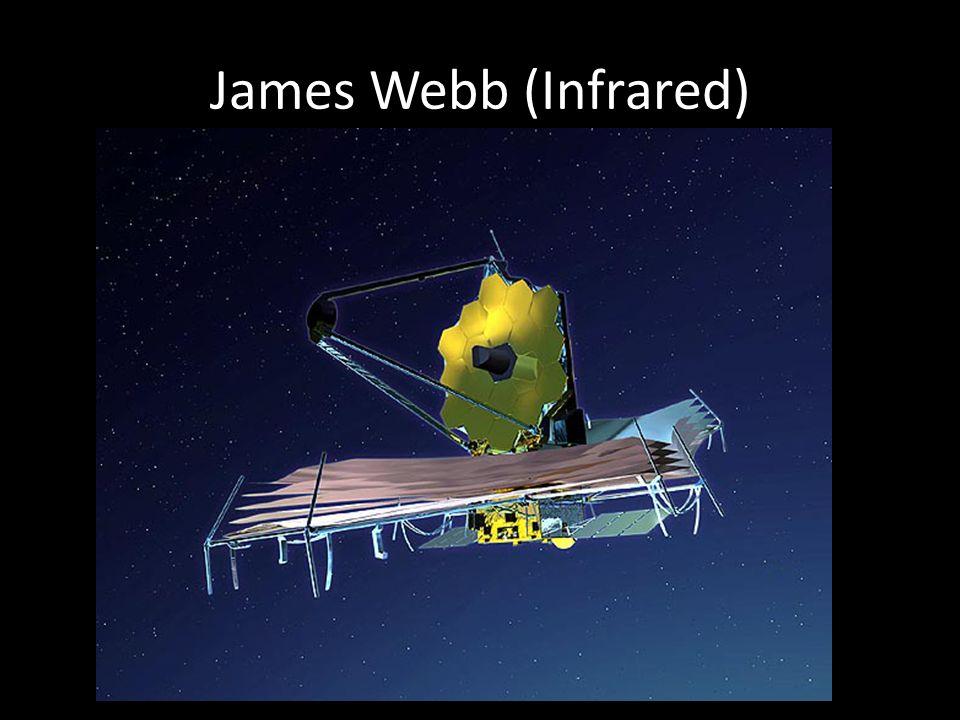James Webb (Infrared) http://jwst.gsfc.nasa.gov/images_jwst.html