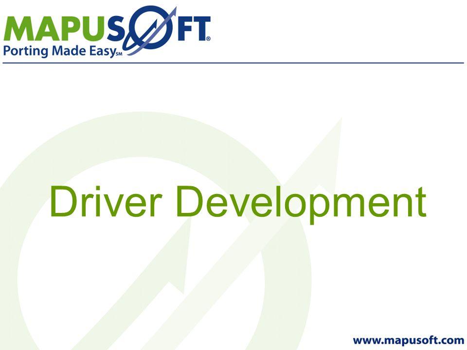 Driver Development