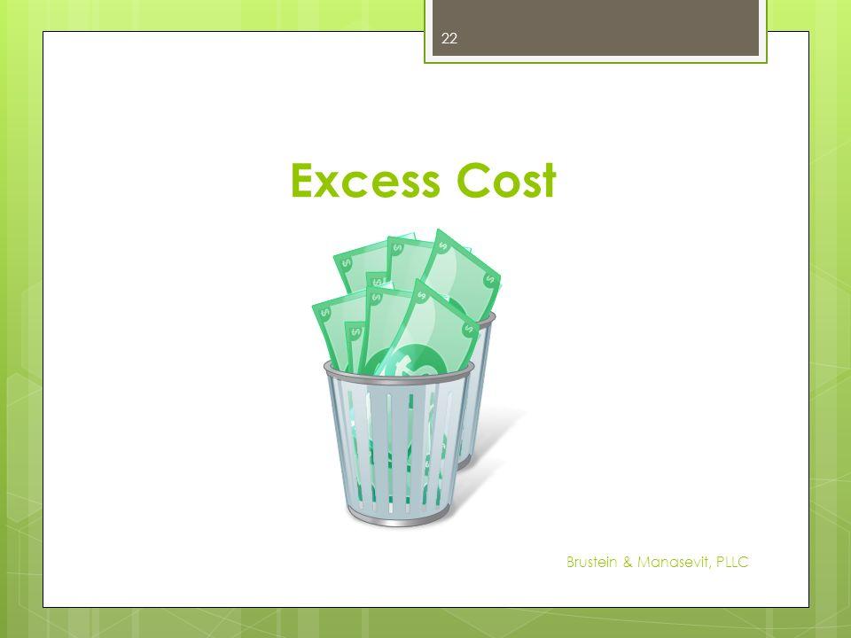 Excess Cost 22 Brustein & Manasevit, PLLC