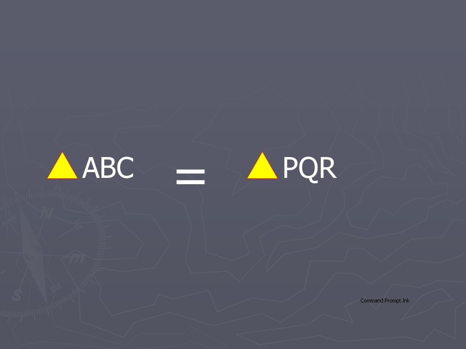 ABCPQR =