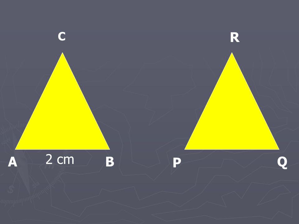 A P BQ C R 2 cm