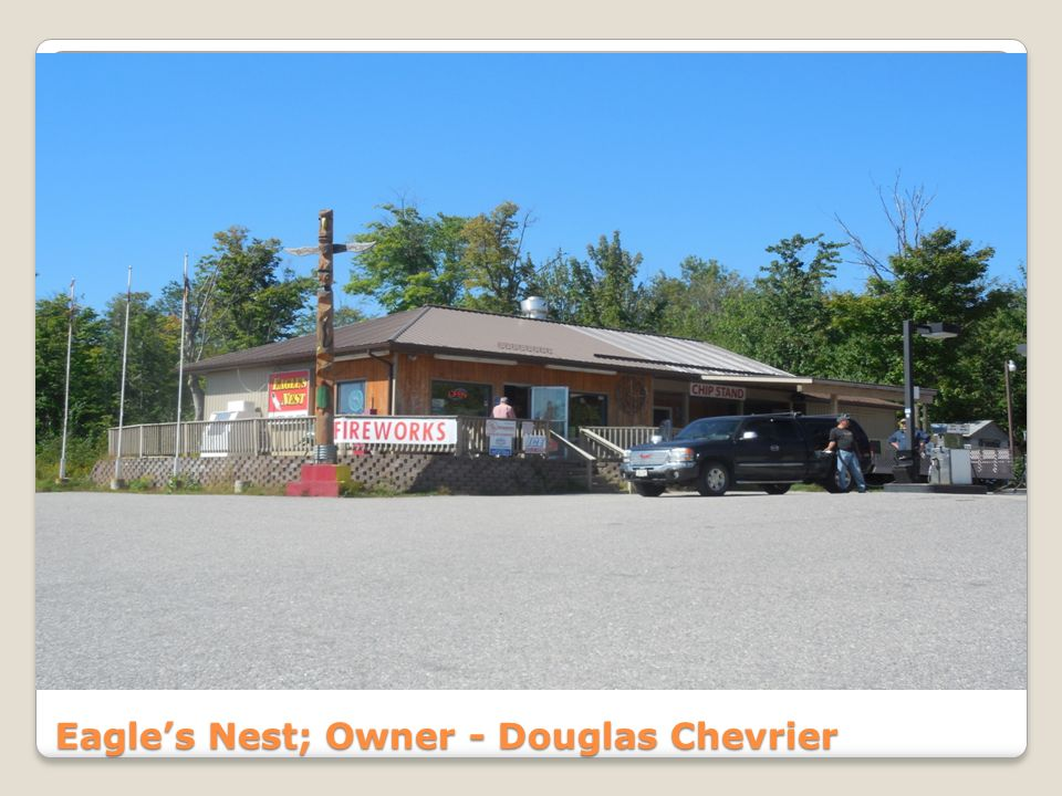 Eagles Nest; Owner - Douglas Chevrier