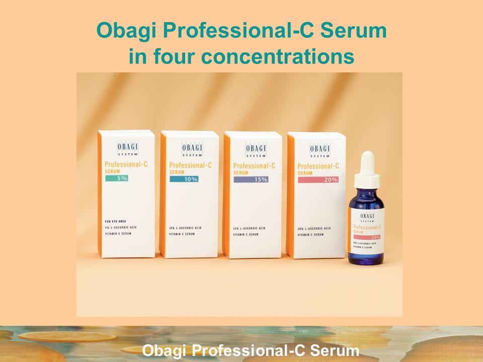 Obagi Professional-C Serum Obagi Professional-C Serum in four concentrations