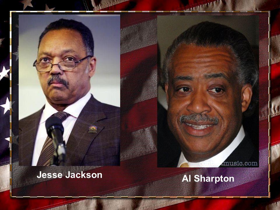 Jesse Jackson Al Sharpton