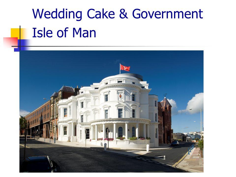 Wedding Cake & Government Isle of Man