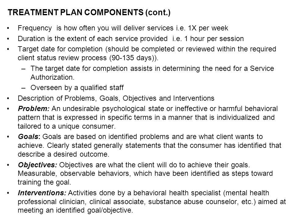 CLIENT STATUS REVIEW (CSR) REGULATION REQUIREMENTS (cont.) AAC 135.100.