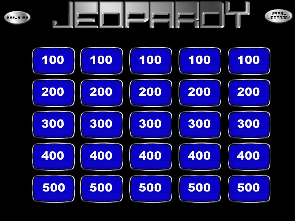 100 200 300 400 500
