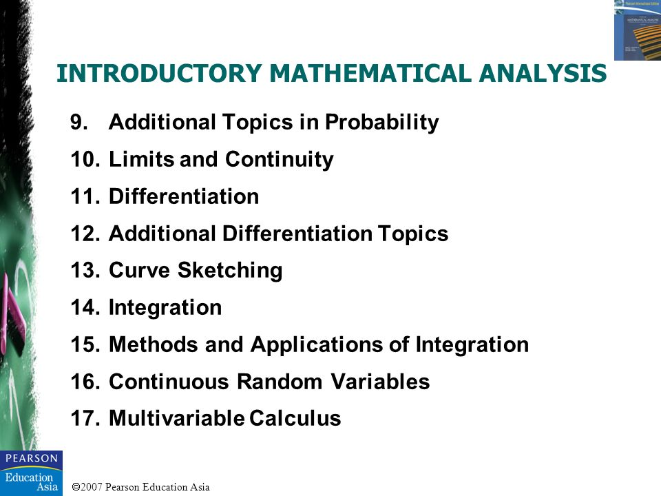 2007 Pearson Education Asia To model situations described by linear or quadratic equations.