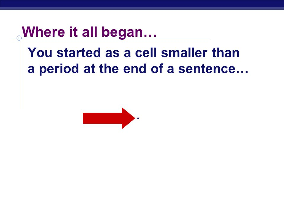 2006-2007 Biology is the only subject in which multiplication is the same thing as division…
