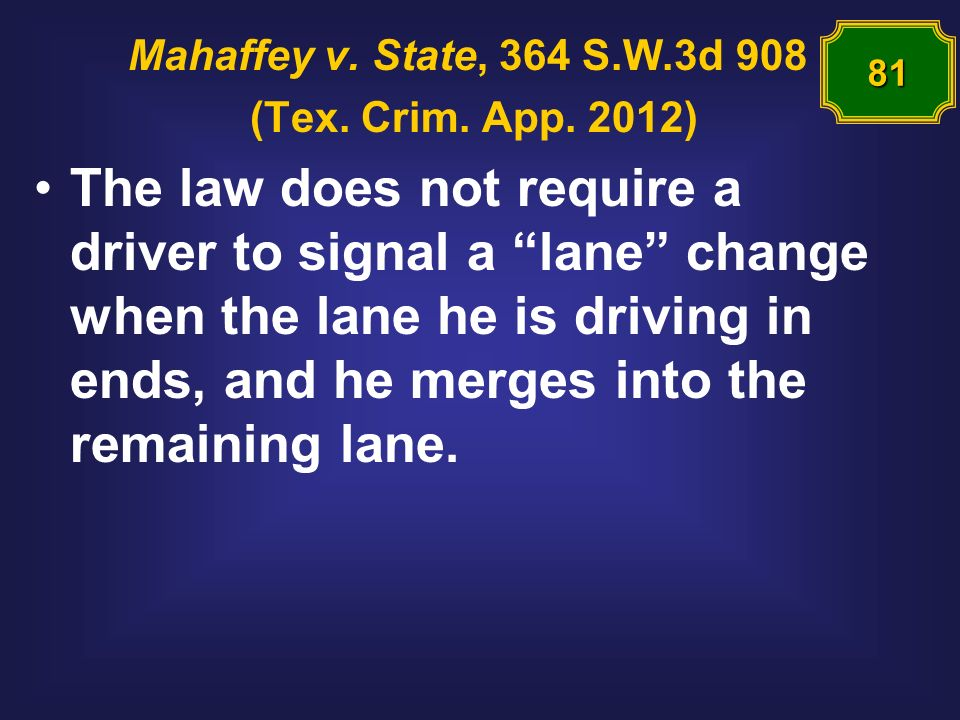 Mahaffey v. State, 364 S.W.3d 908 (Tex. Crim. App.