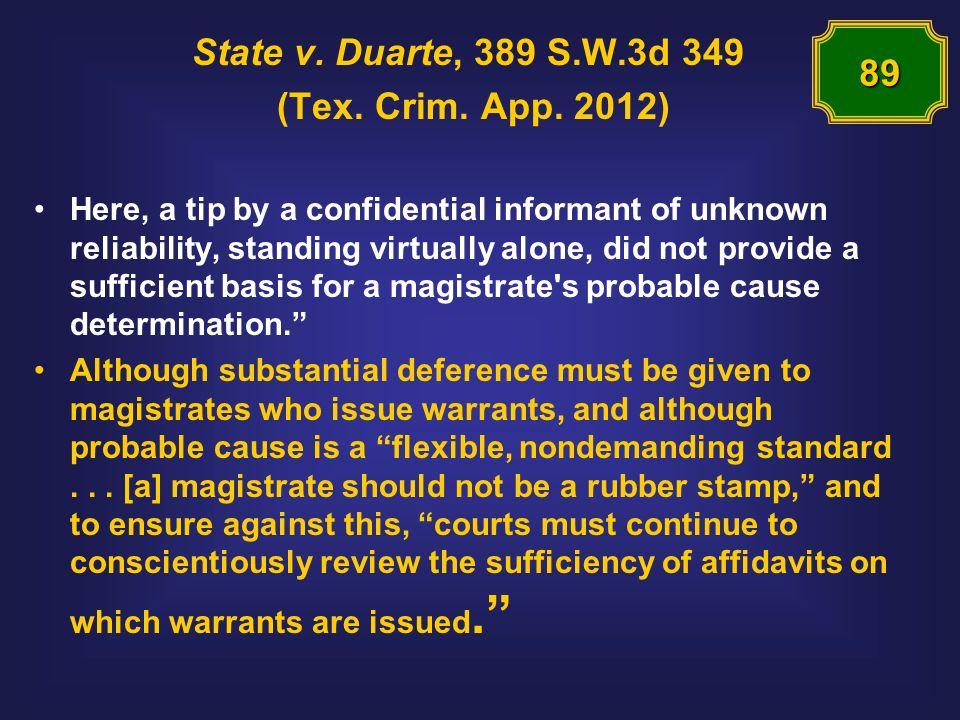 State v. Duarte, 389 S.W.3d 349 (Tex. Crim. App.