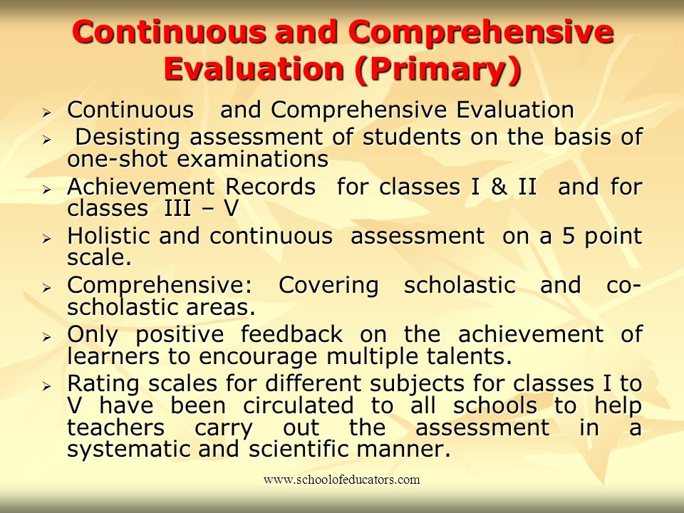 Evaluation School based evaluation certificate – IX and X. School based evaluation certificate – IX and X. Introduced in 1999-2000 Introduced in 1999-