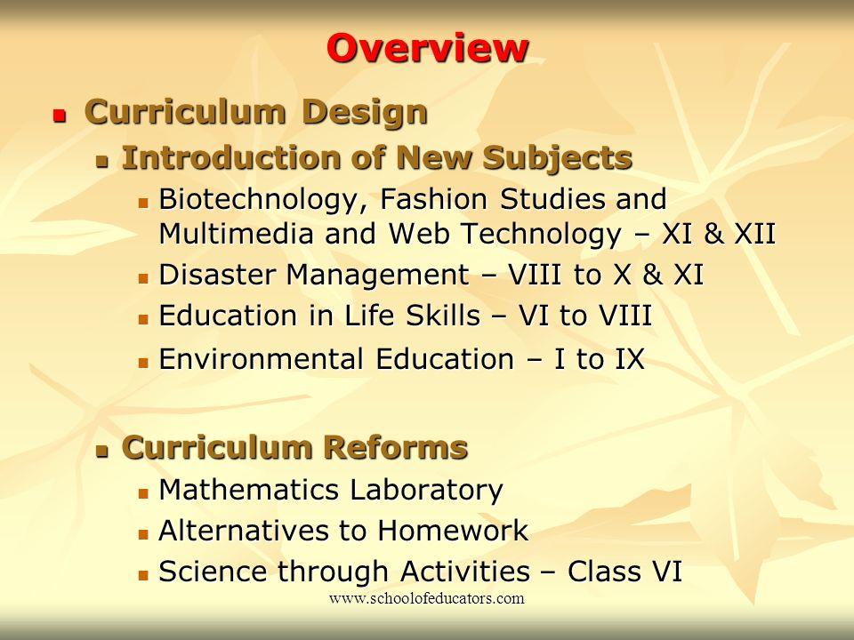 CBSE Update Major Initiatives of CBSE in Recent Years www.schoolofeducators.com