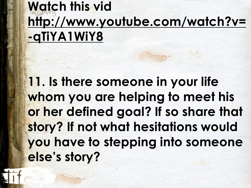 Watch this vid http://www.youtube.com/watch v= -qTiYA1WiY8 11.