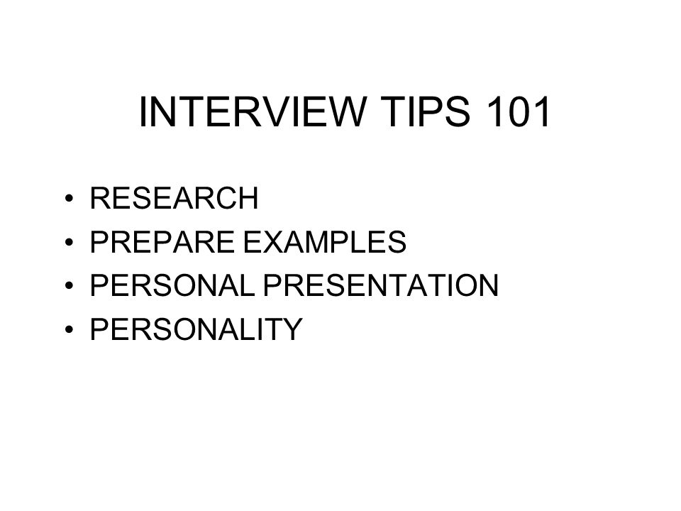Practice Activity Preparation Interview 1 Interview 2 Interview 3 Constructive Feedback Regroup