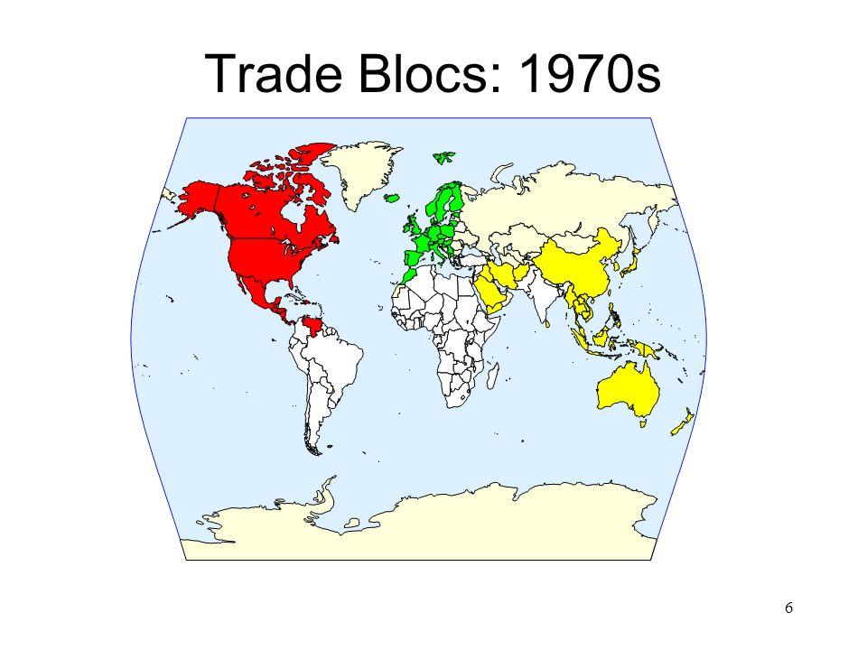 Trade Blocs: 1970s 6
