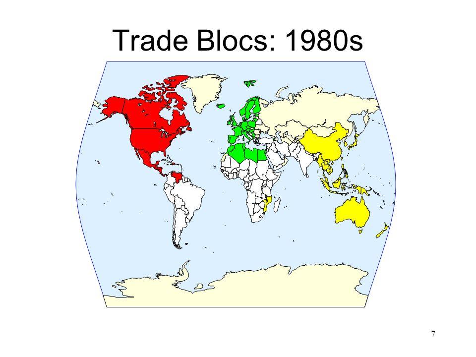 Trade Blocs: 1980s 7