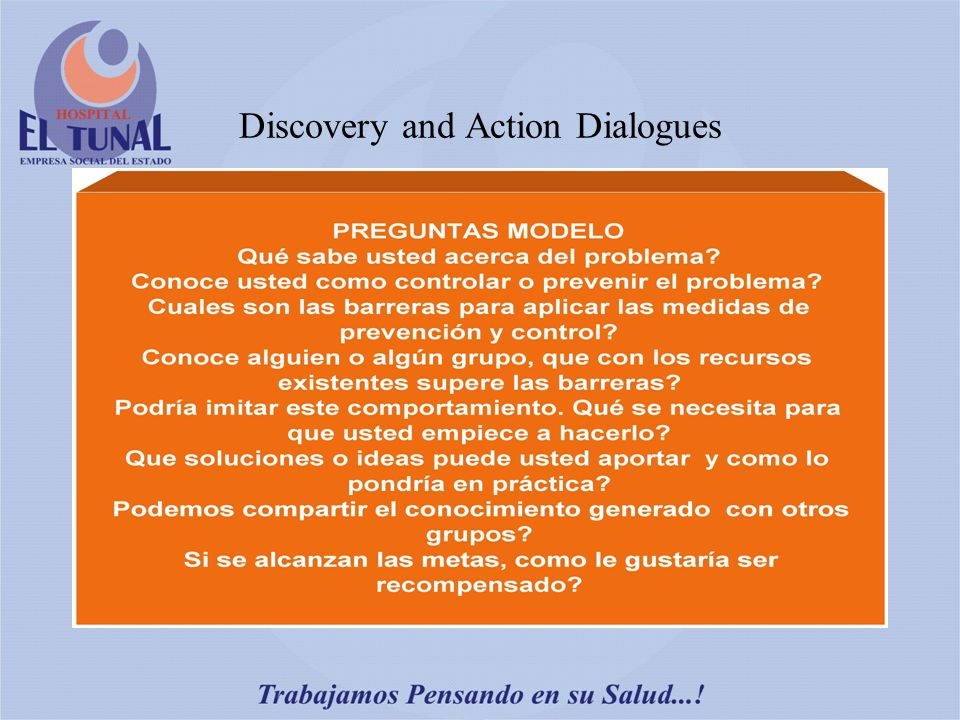 Discovery and Action Dialogues