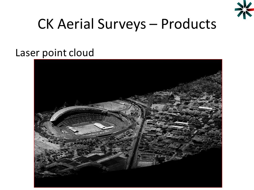 CK Aerial Surveys – Products Laser point cloud