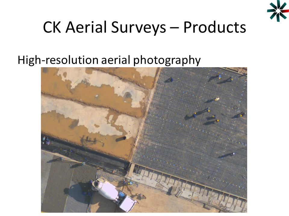 CK Aerial Surveys – Products High-resolution aerial photography
